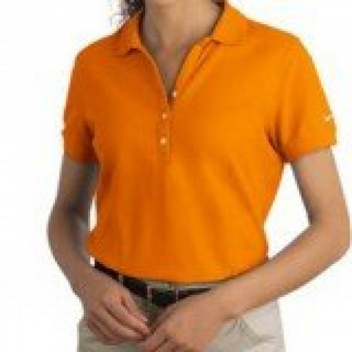 NIKE Women's Pique Knit Polo