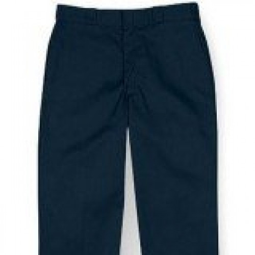 Dickies Black Blended Non Pleated Work Pant