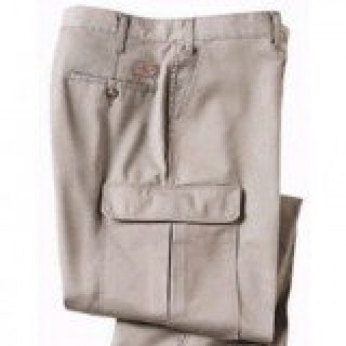 Dickies Khaki 100% Cotton Cargo Pant
