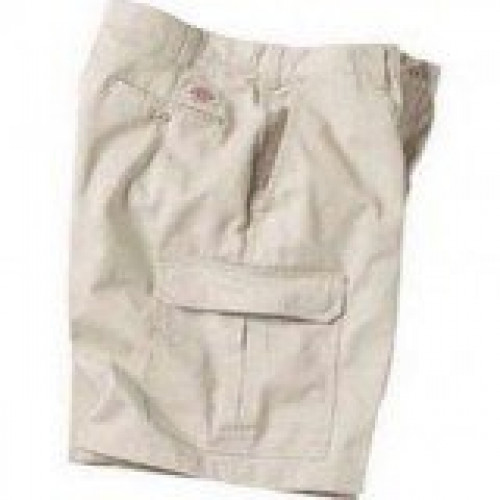 Dickies 10 Inch Inseam Khaki Cargo Short