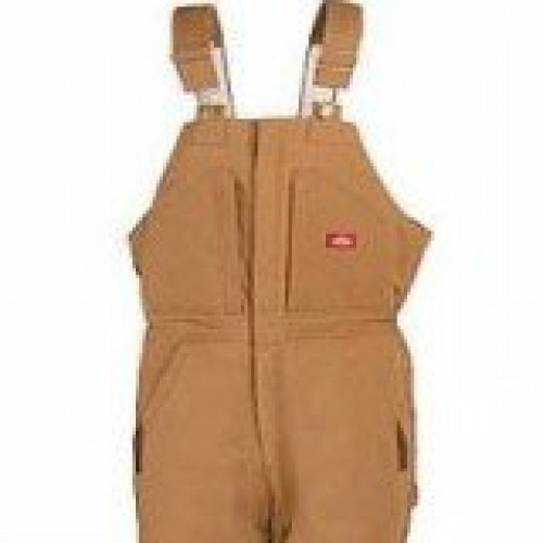 Dickies Duck Brown Bib Overalls
