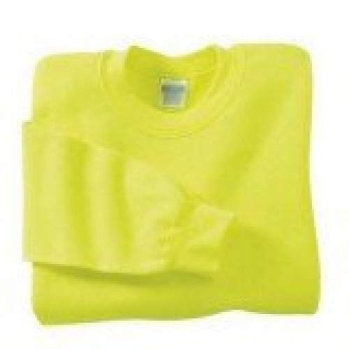 Safety Yellow Crewneck Sweatshirt