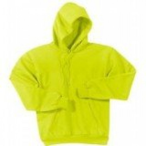 Safety Yellow Hooded Sweatshirt