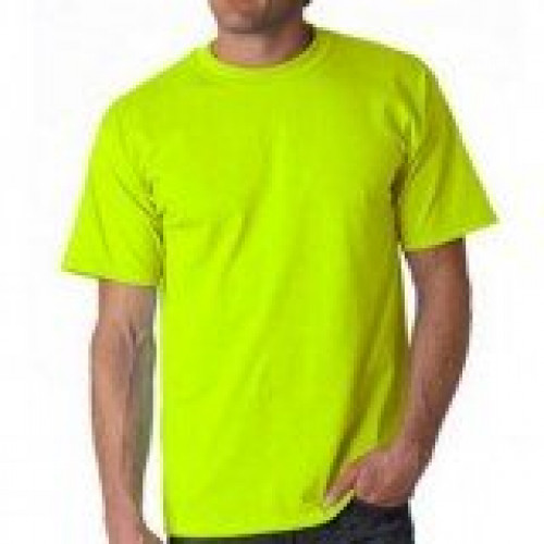 Safety Yellow Tee Shirt 50/50