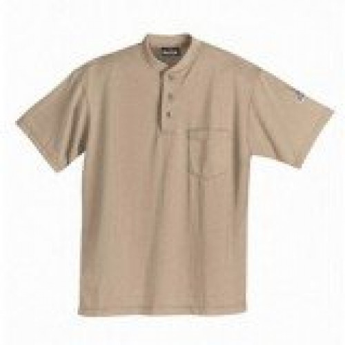 Flame Resistant Henley Shirt