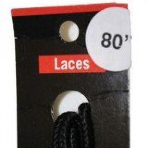 Redwing 80 Inch Black Shoe Lace