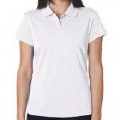 Adidas Ladies' ClimaLite Textured Polo