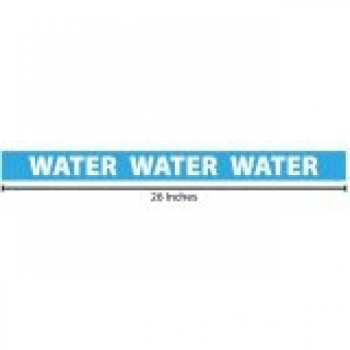 Water Reflective Sticker - Blue