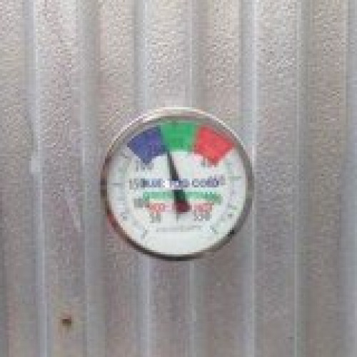 Temperature Gauge Sticker