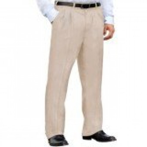 Dickies Khaki Blended Pleated Work Pant