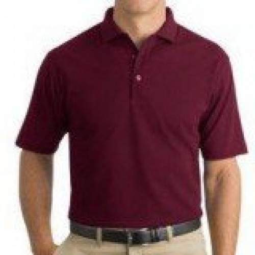 Cornerstone Pocketless Pique Polo