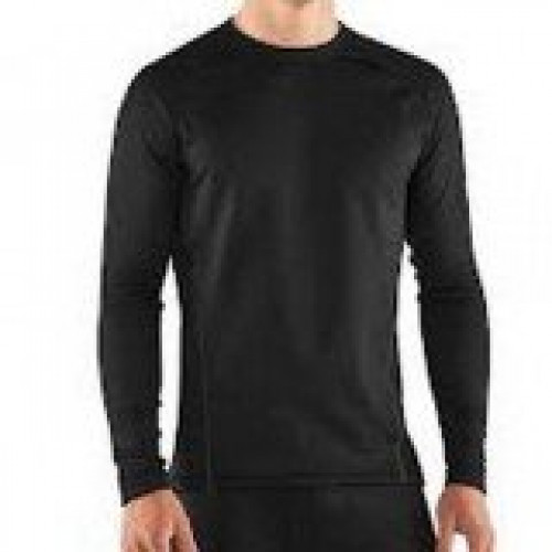 Under Armour Black Men's 3.0 Baselayer Crew
