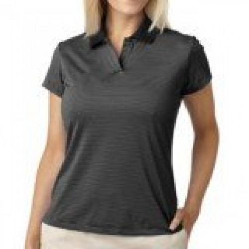 Adidas Ladies' ClimaLite Classic Stripe Polo