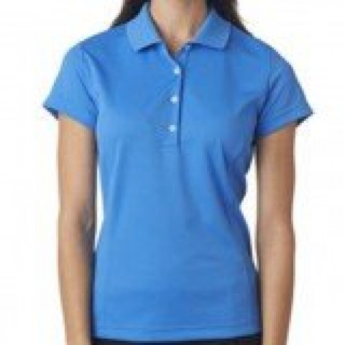Adidas Ladies' ClimaLite Solid Polo