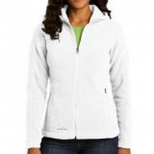 Eddie Bauer Ladies Hooded Full-Zip Fleece Jacket
