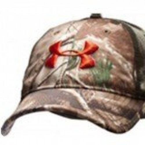 Under Armour Camo 2-Tone Stretch Cap
