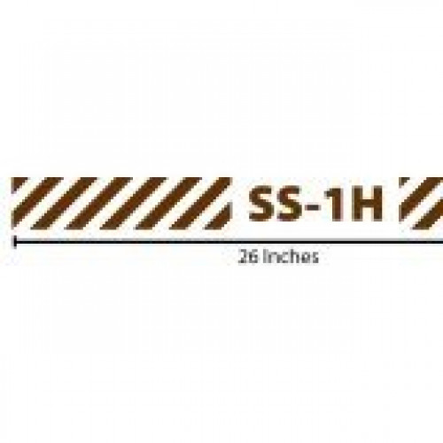Stripes Reflective Sticker - SS-1H - Brown