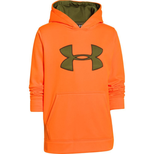 Boys Under Armour Big Logo Hoodie