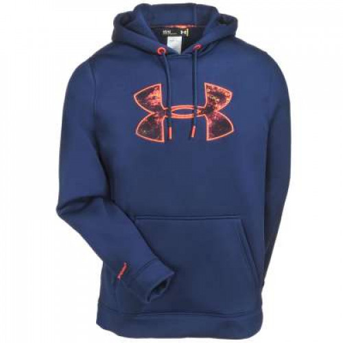 Mens Under Armour Storm MTN Big Logo Hoodie
