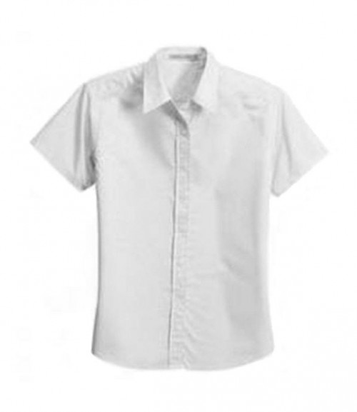 Port Authority Ladies Soil Resistant Short Sleeve Shirt