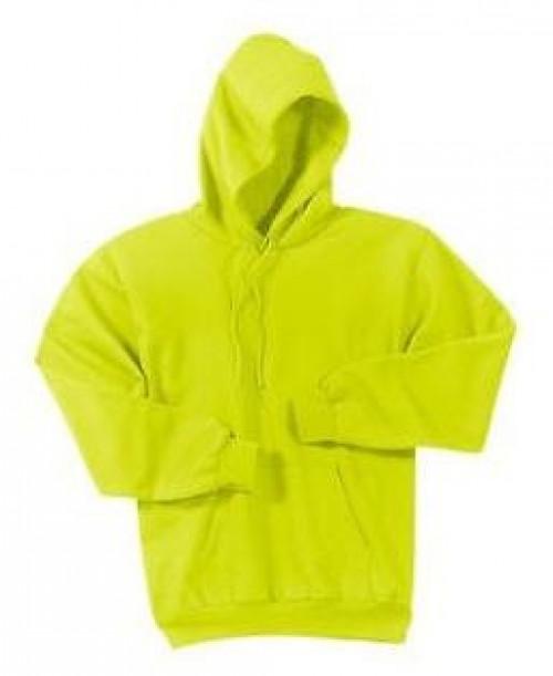 Safety Yellow Hooded Sweatshirt