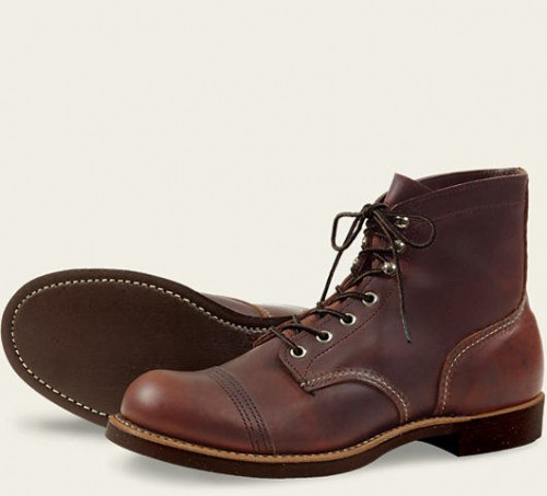Red Wing Heritage Amber Harness Iron Ranger