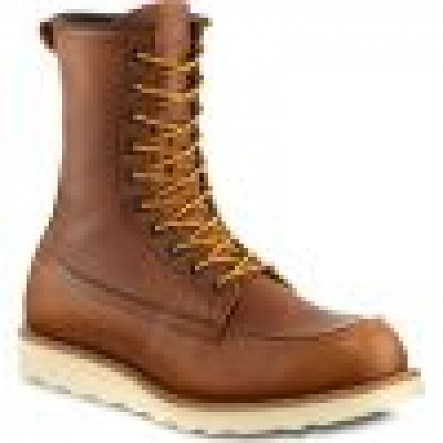 Red Wing Heritage 8 Inch Classic Moc Oro