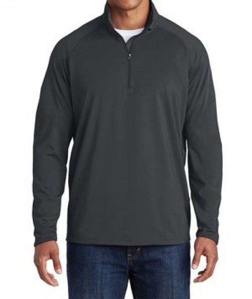 Stretch 1/2-Zip Pullover