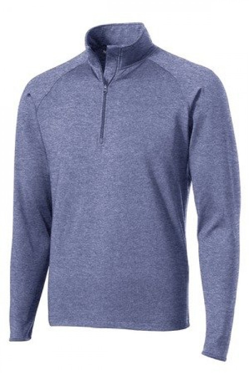 Tall Sport-Wick  Stretch 1/2-Zip Pullover