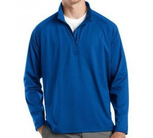Sport-Tek Tall Sport-Wick Stretch 1/2-Zip Pullover