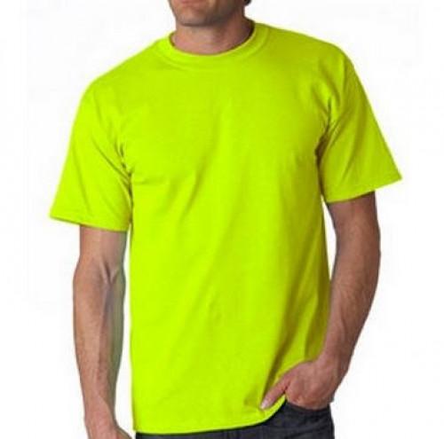 Safety Yellow Tee Shirt 50/50