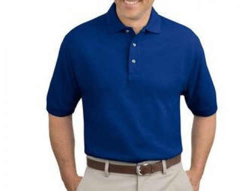 Port Authority Tall Pique Knit Polo