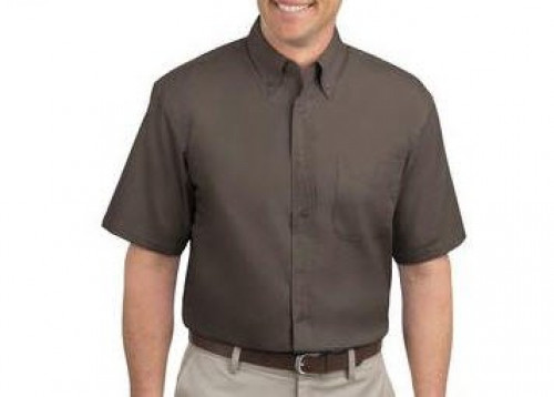 Port Authority Tall Short Sleeve Easy Care Shirt