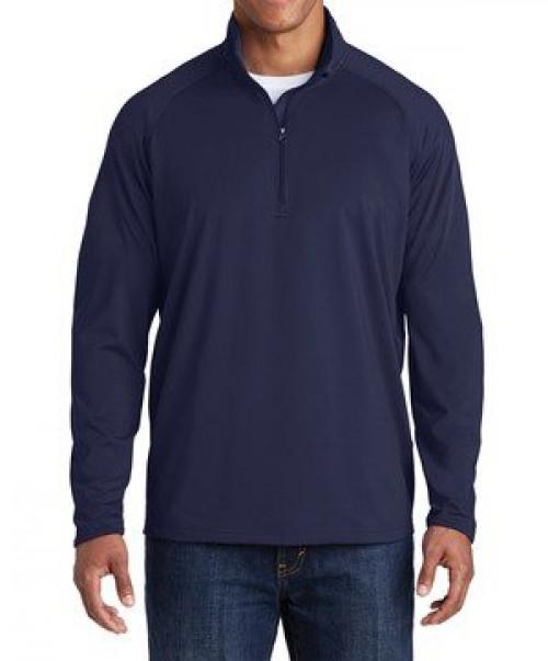 Tall Sport-Wick  Stretch 1/2-Zip Pullover