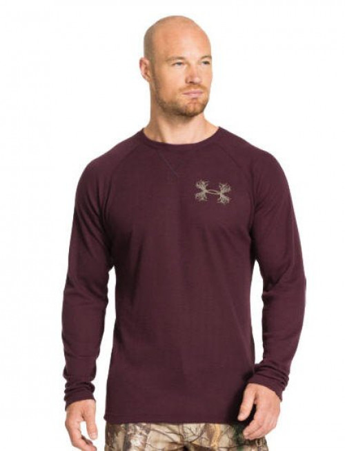 Under Armour Borderland Maroon Waffle