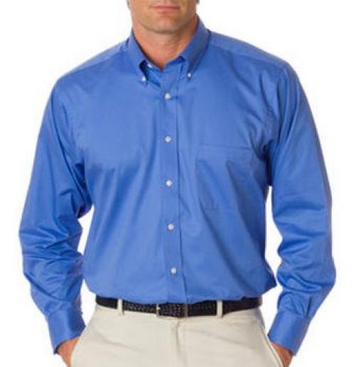Van Heusen Men's Long-Sleeve Dress Twill