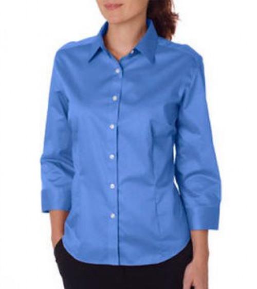 Van Heusen Ladies' 3/4 Sleeve Dress Twill