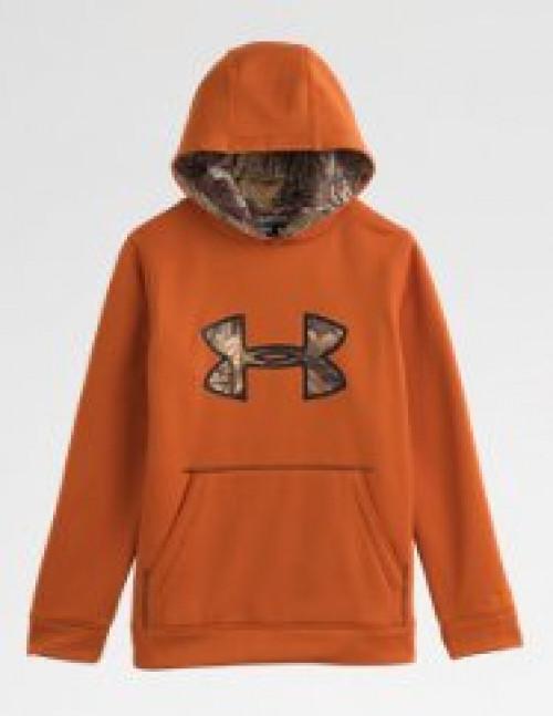 Boys' UA Storm Caliber Big Logo Hoodie