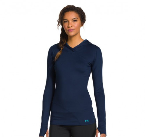 Under Armour Women's Coldgear Base layer Hoodie