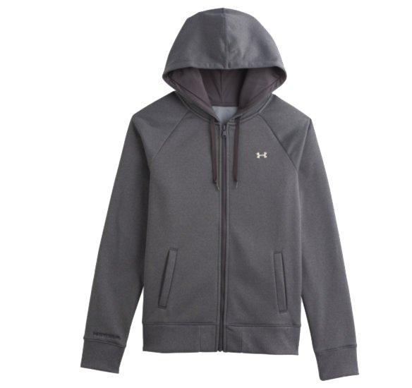 womens under armour zip hoodie