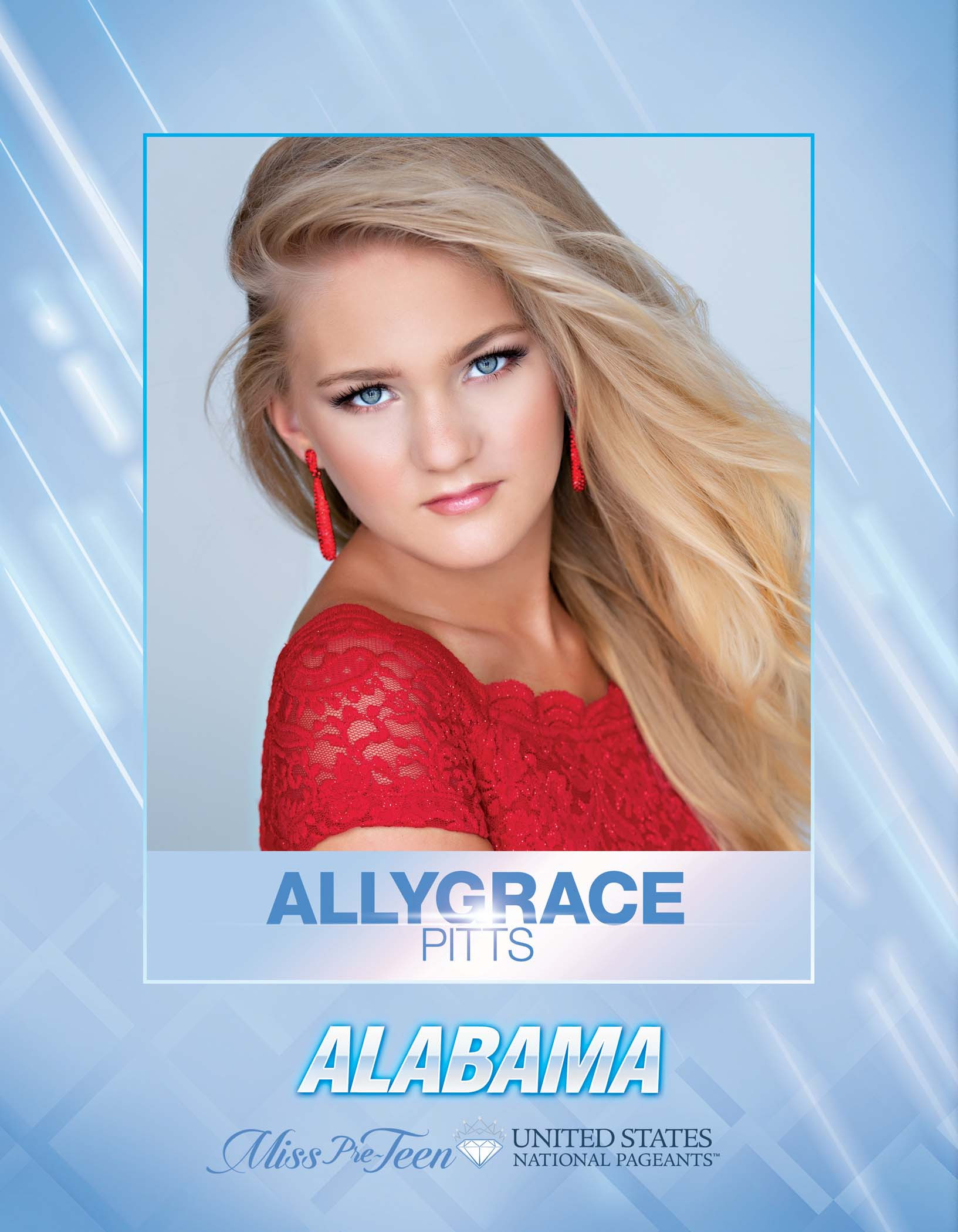 Allygrace Pitts Miss Pre-Teen Alabama United States - 2021
