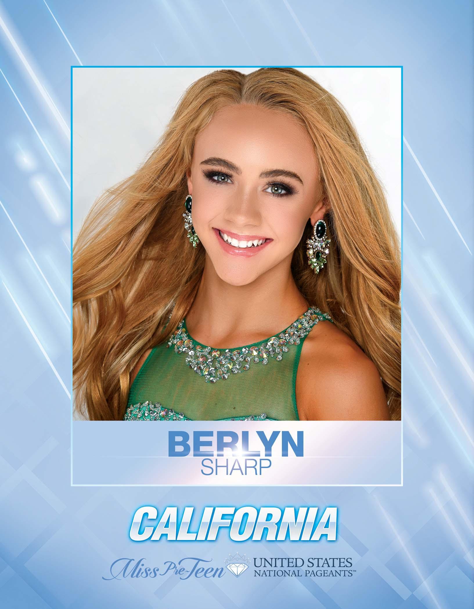 Berlyn Sharp Miss Pre-Teen California United States - 2021