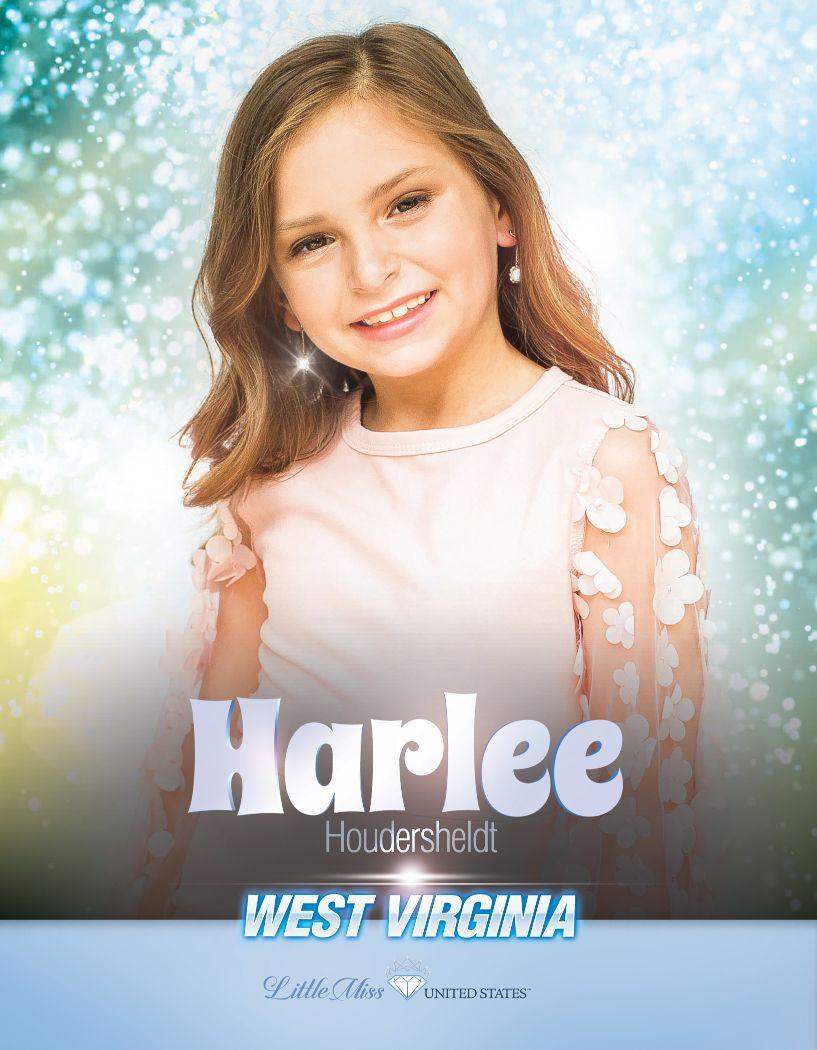 Harlee Houdersheldt Little Miss West Virginia United States - 2020