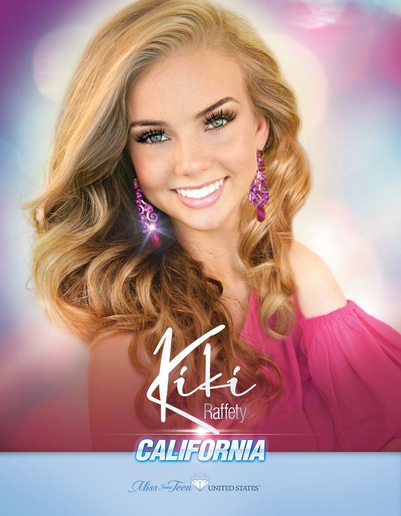 Kiki Raffety Miss Junior Teen California United States - 2020
