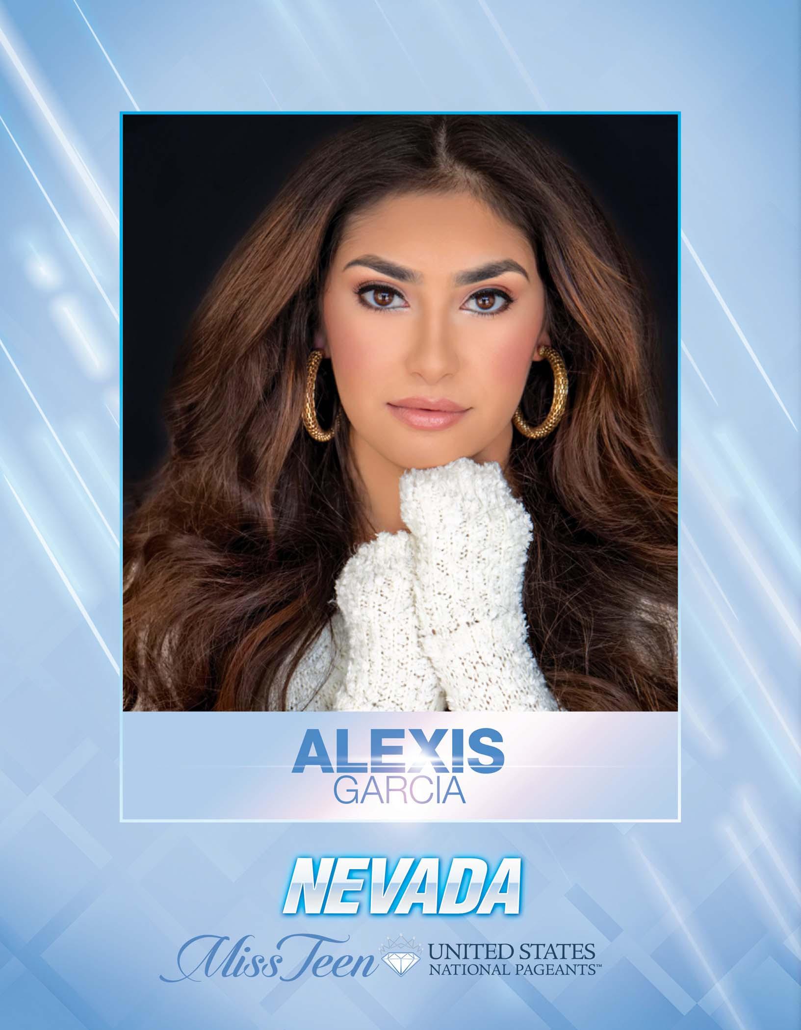 Alexis Garcia Miss Teen Nevada United States - 2021