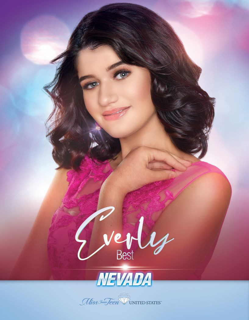 Everly Best Miss Junior Teen Nevada United States - 2020