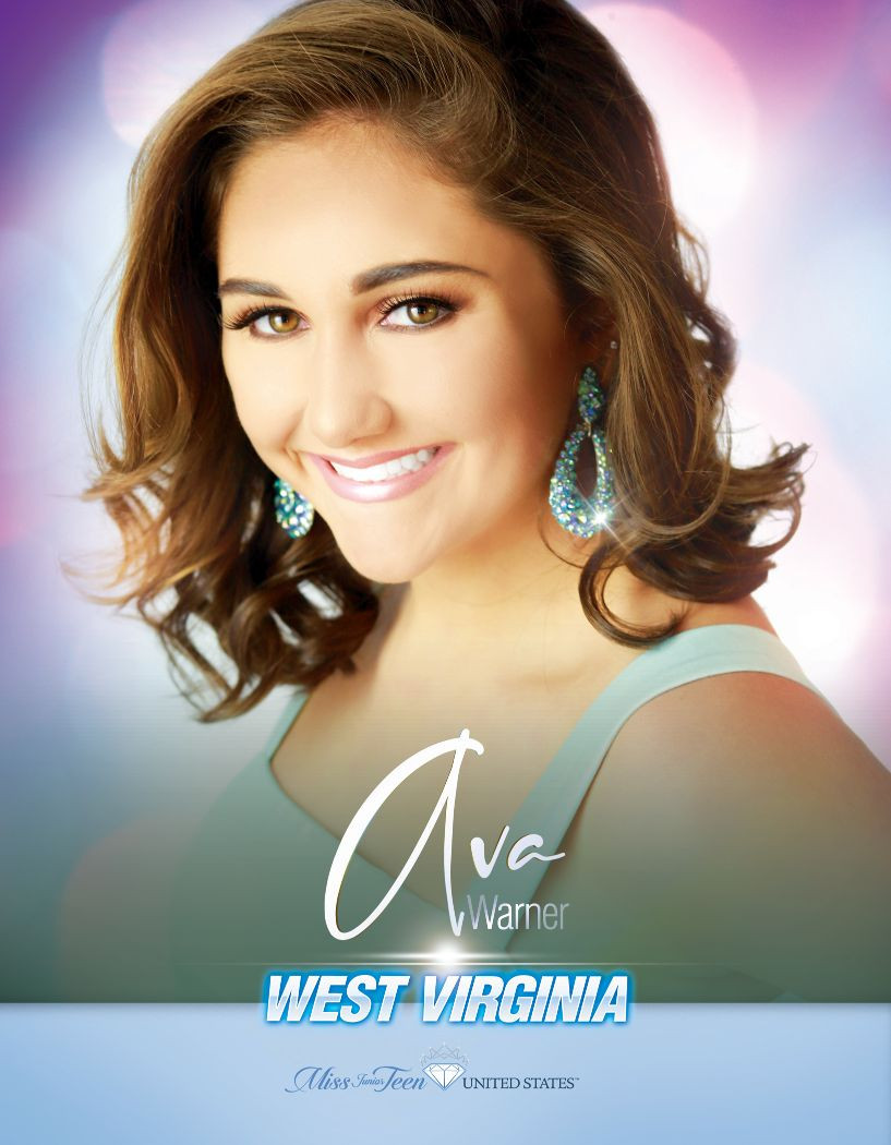 Ava Warner Miss Junior Teen West Virginia United States - 2020