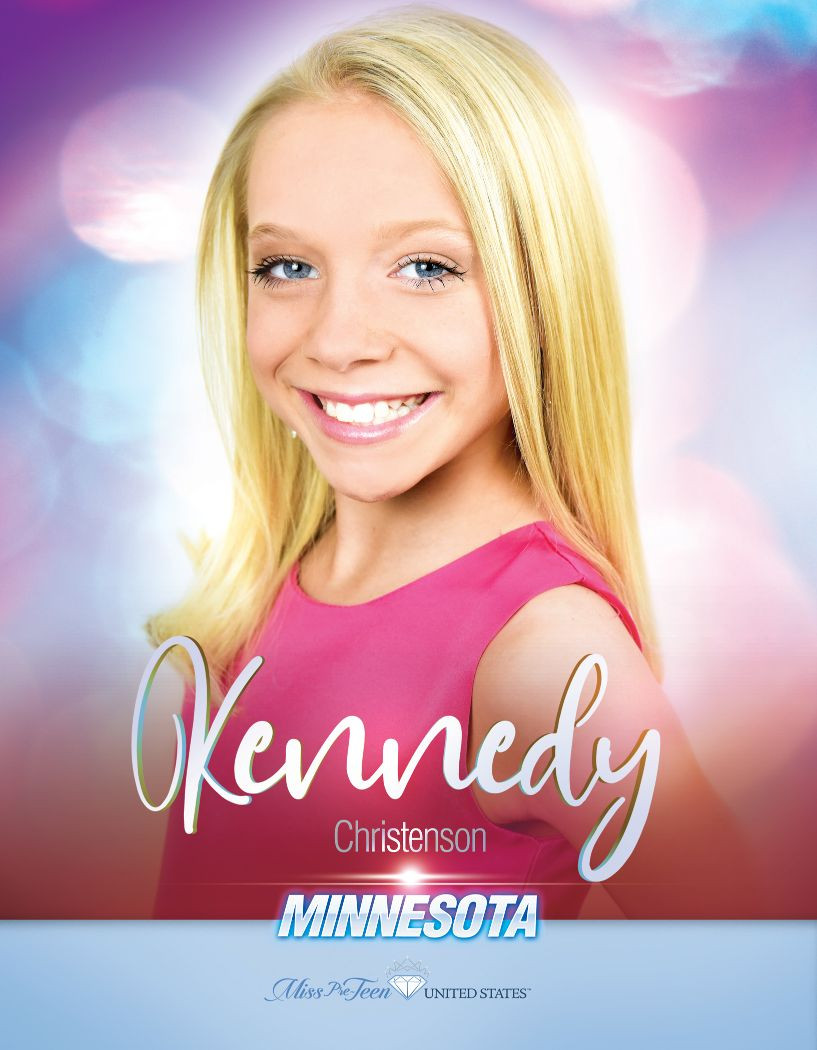 Kennedy Christenson Miss Pre-Teen Minnesota United States - 2020