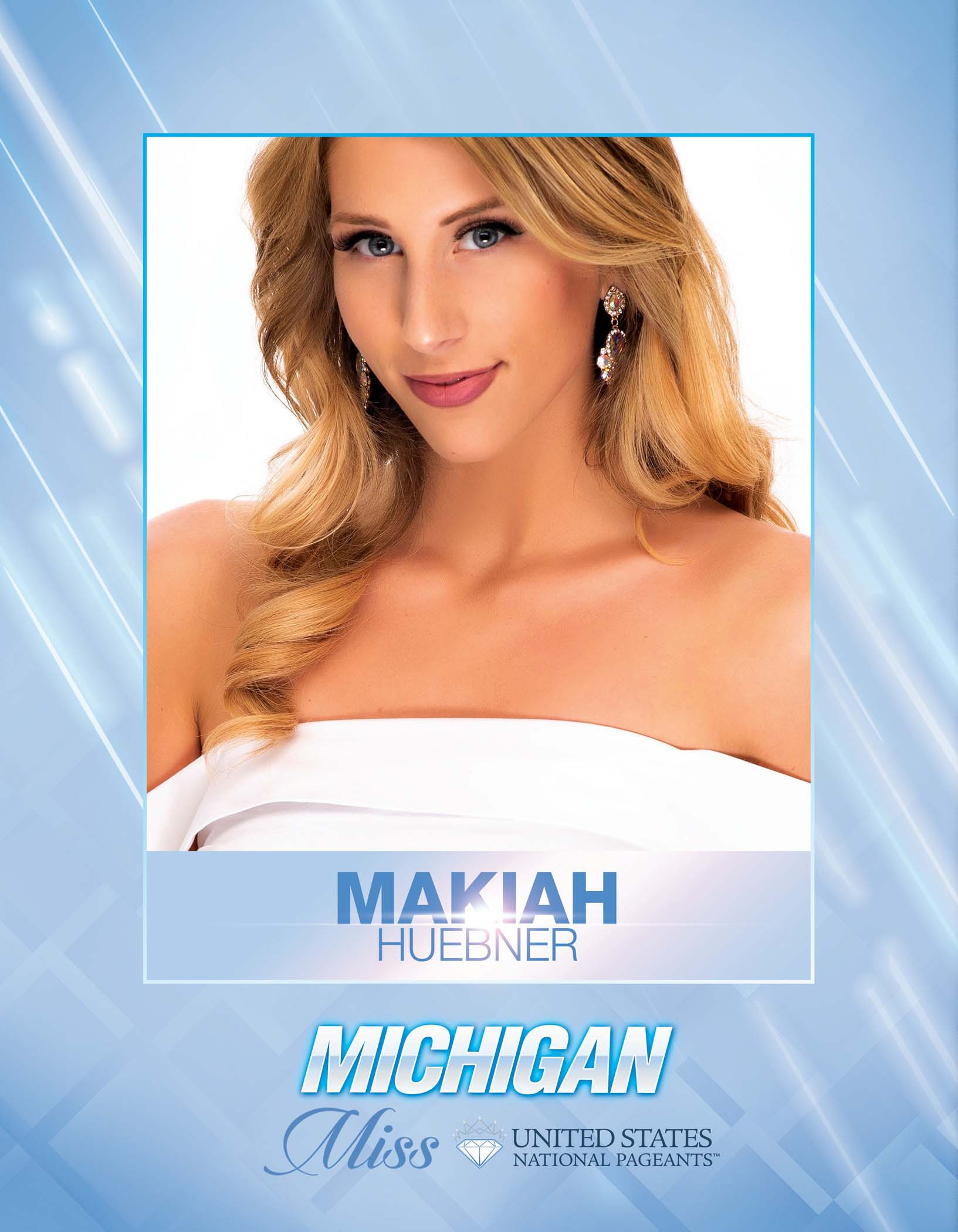 Makiah Huebner Miss Michigan United States - 2021