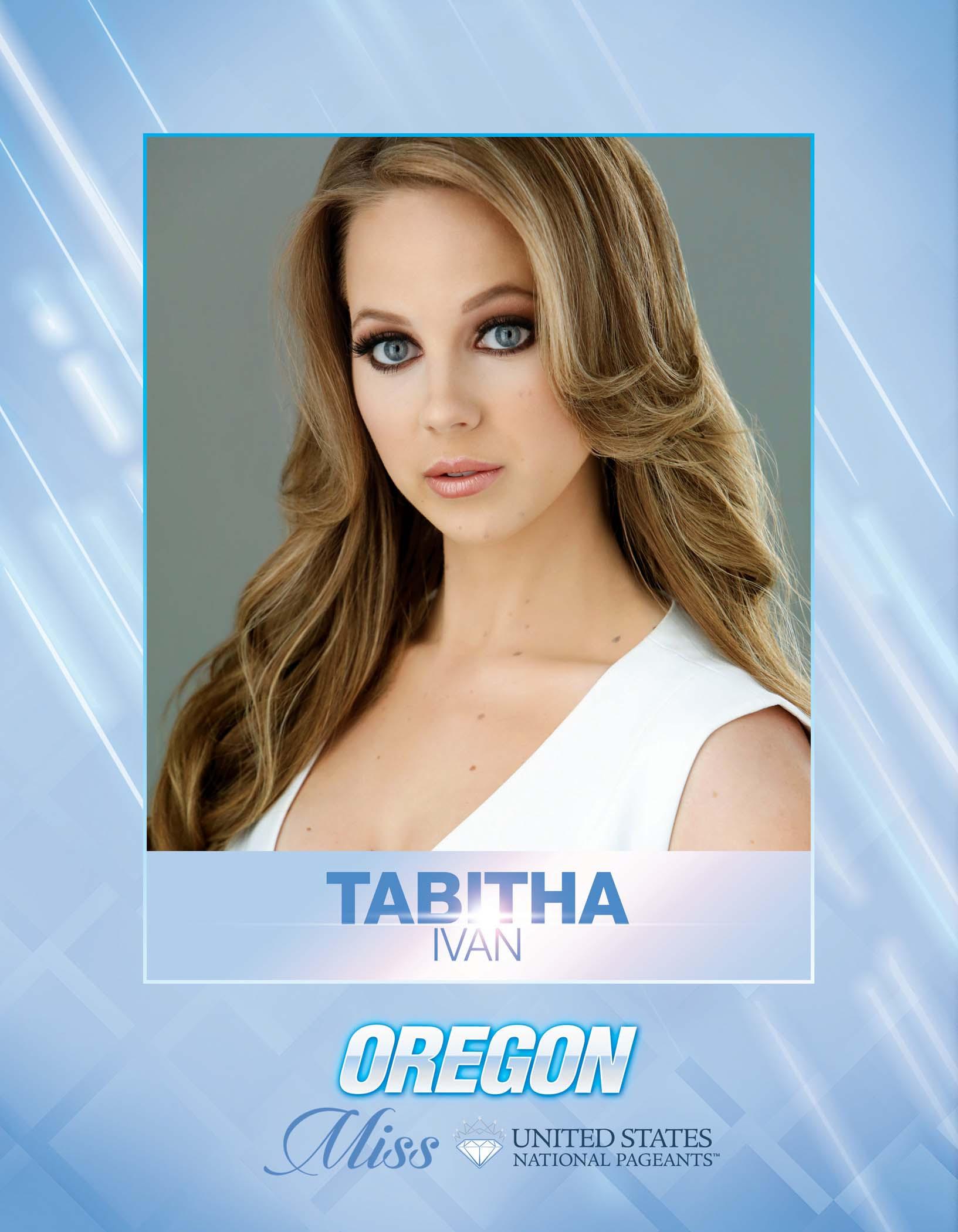 Tabitha Ivan Miss Oregon United States - 2021